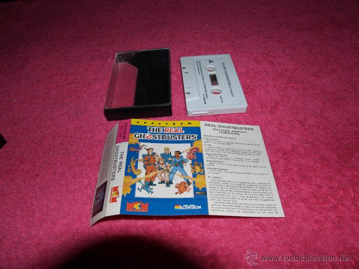 GAME FOR SPECTRUM ACTIVISION THE REAL GHOSTBUSTERS SPANISH VERSION MCM 1989 (Juguetes - Videojuegos y Consolas - Spectrum)
