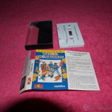 Videojuegos y Consolas: GAME FOR SPECTRUM ACTIVISION THE REAL GHOSTBUSTERS SPANISH VERSION MCM 1989. Lote 51769952