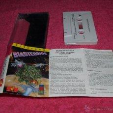 Videojuegos y Consolas: GAME FOR SPECTRUM MCM BLASTEROIDS SPANISH VERSION MIRRORSOFT 1989. Lote 51770123