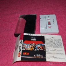 Videojuegos y Consolas: GAME FOR SPECTRUM ELITE 1942 BATTY SPANISH VERSION BY MCM 1989. Lote 51770165
