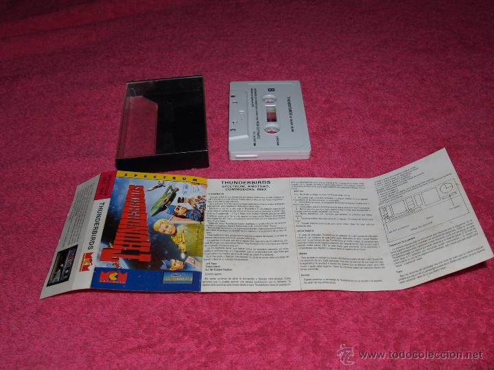 GAME FOR SPECTRUM THUNDERBIRDS SPANISH GAME MCM 1989 (Juguetes - Videojuegos y Consolas - Spectrum)