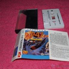 Videojuegos y Consolas: GAME FOR SPECTRUM MCM P-47 THUNDERBOLT SPANISH VERSION JALECO 1990. Lote 51770430