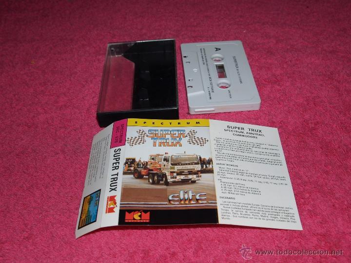 GAME FOR SPECTRUM MCM SUPER TRUX SPANISH VERSION ELITE 1989 (Juguetes - Videojuegos y Consolas - Spectrum)