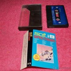 Videojuegos y Consolas: SOFTWARE SPECTRUM SFOT NÚMERO 6 15 PROGRAMAS. Lote 51770719