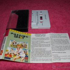Videojuegos y Consolas: GAME FOR SPECTRUM MCM PASSING SHOOT SPANISH VERSION 1989 SEGA. Lote 52809986
