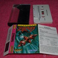 Videojuegos y Consolas: GAME SPECTRUM ERBE ZYNAPS SPANISH VERSION 1987 HEWSON. Lote 51771407