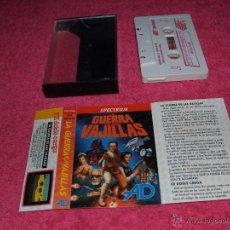 Videojuegos y Consolas: GAME FOR SPECTRUM DINAMIC LA GUERRA DE LAS VAJILLAS SPANISH GAME BY AD. Lote 51771603