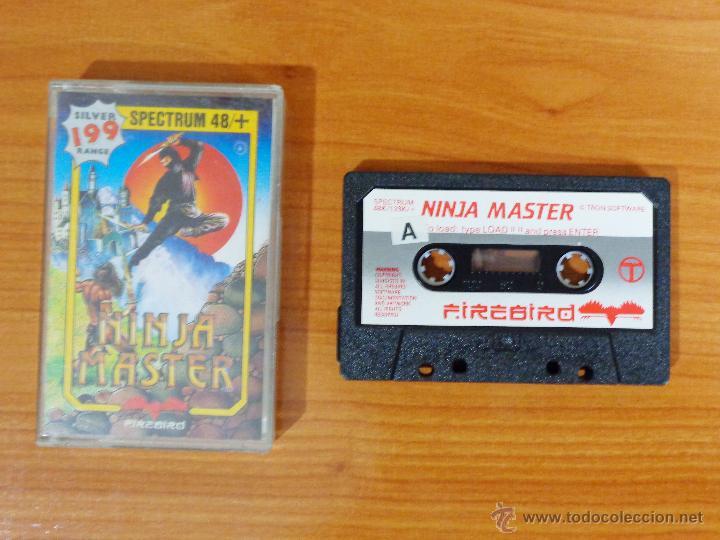 JUEGO SPECTRUM 'NINJA MASTER'. (Juguetes - Videojuegos y Consolas - Spectrum)