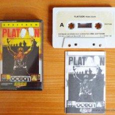 Videojuegos y Consolas: JUEGO SPECTRUM 'PLATOON'.. Lote 51808042