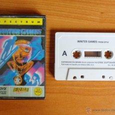 Videojuegos y Consolas: JUEGO SPECTRUM 'WINTER GAMES'.. Lote 51888986