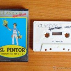 Videojuegos y Consolas: JUEGO SPECTRUM 'EL PINTOR'.. Lote 51890434