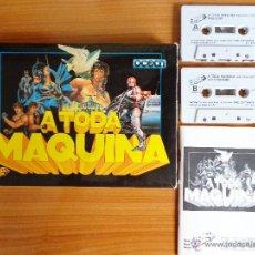Videojuegos y Consolas: JUEGOS SPECTRUM 'A TODA MAQUINA', EDICIÓN CON ESTUCHE DE CARTÓN.. Lote 51934937