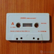 Videojuegos y Consolas: JUEGO SPECTRUM 'ZORRO', SIN CAJA.. Lote 51936509