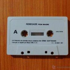 Videojuegos y Consolas: JUEGO SPECTRUM 'RENEGADE', SIN CAJA.. Lote 51936557