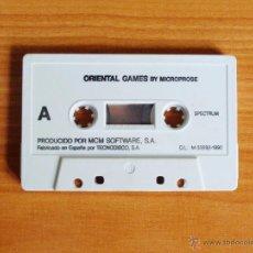 Videojuegos y Consolas: JUEGO SPECTRUM 'ORIENTAL GAMES', SIN CAJA.. Lote 51936733