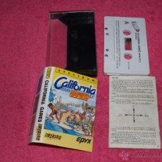 Videojuegos y Consolas: JUEGO PARA SPECTRUM ERBE CALIFORNIA GAMES BY EPIX 1987. Lote 52141301