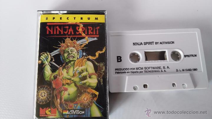 SPECTRUM JUEGO ORIGINAL NINJA SPIRIT (Juguetes - Videojuegos y Consolas - Spectrum)