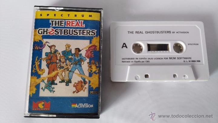 SPECTRUM JUEGO ORIGINAL THE REAL GHOSTBUSTERS (Juguetes - Videojuegos y Consolas - Spectrum)