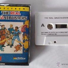 Videojuegos y Consolas: SPECTRUM JUEGO ORIGINAL THE REAL GHOSTBUSTERS. Lote 52862014