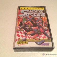 Videojuegos y Consolas: SUPER SOCCER SPECTRUM/JUEGO PARA ORDENADOR SPECTRUM SUPER SOCCER. Lote 52975705