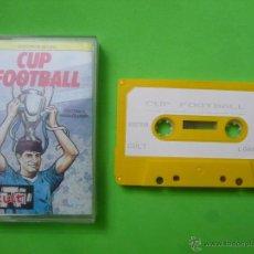 Videojuegos y Consolas: JUEGO - SPECTRUM - CUP FOOTBALL. Lote 53423100