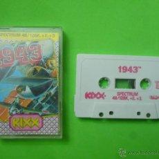 Videojuegos y Consolas: JUEGO - SPECTRUM - 1943. Lote 53423196