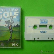 Videojuegos y Consolas: JUEGO - SPECTRUM - SPECTRUM GOLF. Lote 53423475