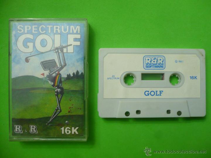 Videojuegos y Consolas: JUEGO - SPECTRUM - SPECTRUM GOLF - Foto 2 - 53423475