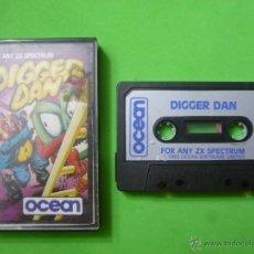 Videojuegos y Consolas: JUEGO - SPECTRUM - DIGGER DAN. Lote 53455659