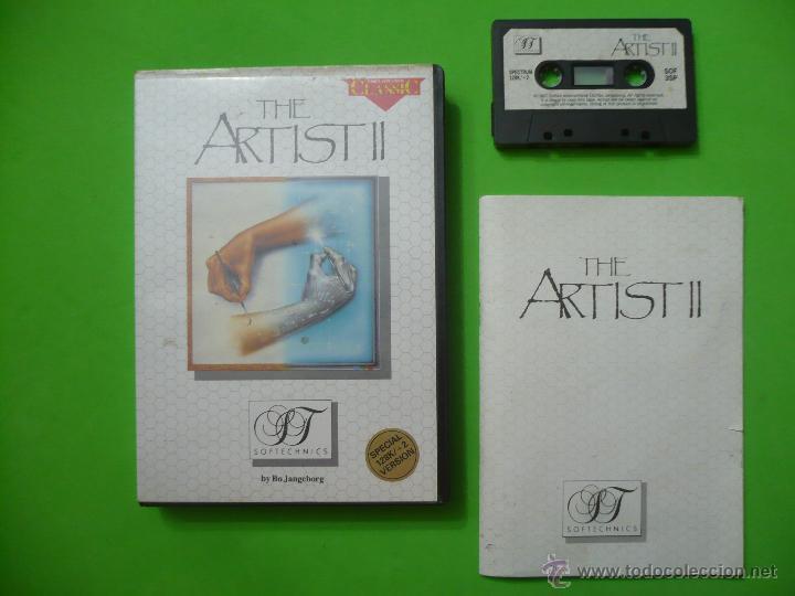 JUEGO - SPECTRUM - THE ARTIST II ( ESTUCHE NOVIEMBRE 1986 ) (Juguetes - Videojuegos y Consolas - Spectrum)
