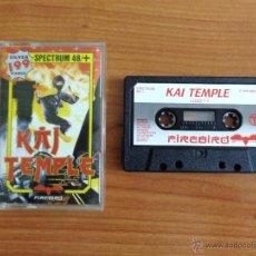 Videojuegos y Consolas: JUEGO SPECTRUM 'KAI TEMPLE'.. Lote 54003665