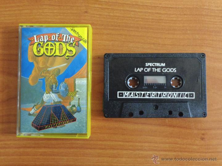 JUEGO SPECTRUM 'LAP OF THE GODS'. (Juguetes - Videojuegos y Consolas - Spectrum)