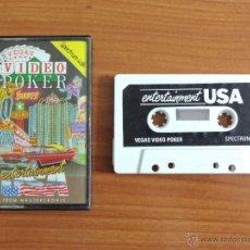 Videojuegos y Consolas: JUEGO SPECTRUM 'LAS VEGAS VIDEO POKER'.. Lote 54003708