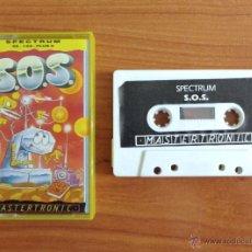 Videojuegos y Consolas: JUEGO SPECTRUM 'S.O.S'.. Lote 54004168