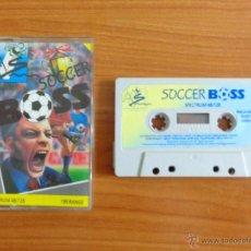 Videojuegos y Consolas: JUEGO SPECTRUM 'SOCCER BOOS'.. Lote 54004194