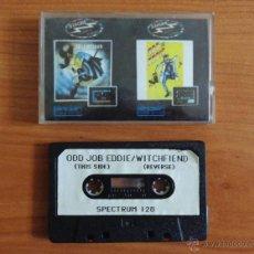 Videojuegos y Consolas: JUEGOS SPECTRUM 'WITCHFIEND, ODD JOB EDDIE'.. Lote 54004394