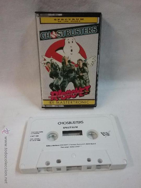 SPECTRUM - JUEGO GHOSTBUSTERS PARA SPECTRUM EN CAJA (Juguetes - Videojuegos y Consolas - Spectrum)