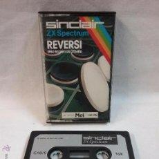 Videojuegos y Consolas: SPECTRUM - JUEGO REVERSI PARA SPECTRUM EN CAJA . Lote 54149391