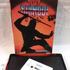 Videojuegos y Consolas: SPECTRUM - JUEGO SHINOBI PARA SPECTRUM EN CAJA . Lote 54149583