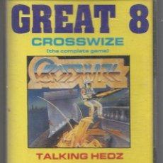 Videojuegos y Consolas: GREAT 8 CROSSWIZE. Lote 54234299