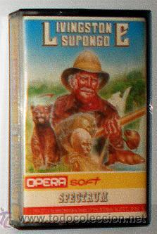 LIVINGSTONE SUPONGO [OPERA SOFT] 1987 [ZX SPECTRUM] (Juguetes - Videojuegos y Consolas - Spectrum)