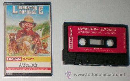 Videojuegos y Consolas: Livingstone Supongo [Opera Soft] 1987 [ZX Spectrum] - Foto 3 - 54397222