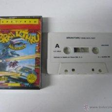 Videojuegos y Consolas: BREAKTHRU / SINCLAIR ZX SPECTRUM / CASSETTE / RETRO. Lote 55011435