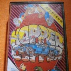 Videojuegos y Consolas: JUEGO ZX SPECTRUM Y COMPATIBLES -HOPPER COOPER - BY SILVERBIRD - MCM SOFTWARE 1988 -. Lote 55344161