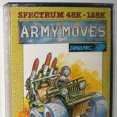 Videojuegos y Consolas: ARMY MOVES [IMAGINE SOFTWARE] 1987 DINAMIC SOFTWARE [ZX SPECTRUM]. Lote 55689944