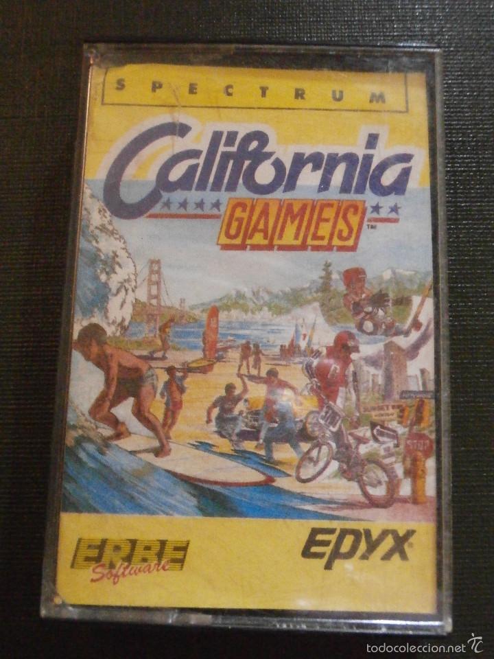 JUEGO ZX SPECTRUM Y COMPATIBLES - CALIFORNIA GAMES - EPIX - 1987 - (Juguetes - Videojuegos y Consolas - Spectrum)