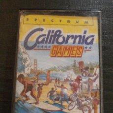 Videojuegos y Consolas: JUEGO ZX SPECTRUM Y COMPATIBLES - CALIFORNIA GAMES - EPIX - 1987 -. Lote 55891912
