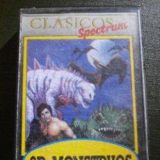 Videojuegos y Consolas: JUEGO ZX SPECTRUM Y COMPATIBLES - 3D MONSTRUOS - MICROBYTE. Lote 55891936