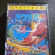 Videojuegos y Consolas: JUEGO ZX SPECTRUM Y COMPATIBLES - SPACE HARRIER BY ELITE SYSTEMS - MCM SOFTWARE, 1989. Lote 55891950