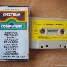 Videojuegos y Consolas: BIENVENIDO A SPECTRUM COMPUTING - SPECTRUM. Lote 55938038